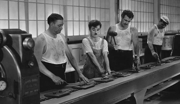 Charlie Chaplin - Modern Times
