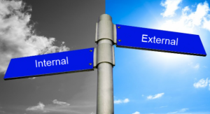 internal vs. external customer