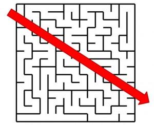 Shortest way - maze