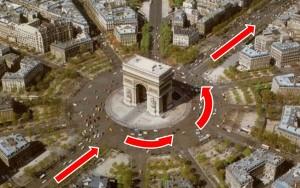 Circumventing monuments