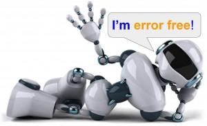Error free robot